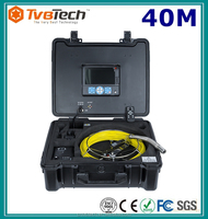 Portable Mini Keyboard Vent And Duct Cleaning Inspection Camera With Meter Counter