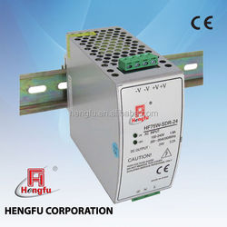 HF 75W Power Supply Universal AC Input Din Rail Series