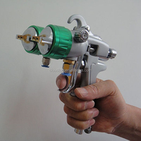 2015 best on sales wall key safe two head double nozzle gun water transfer activator spray spray foam insulation