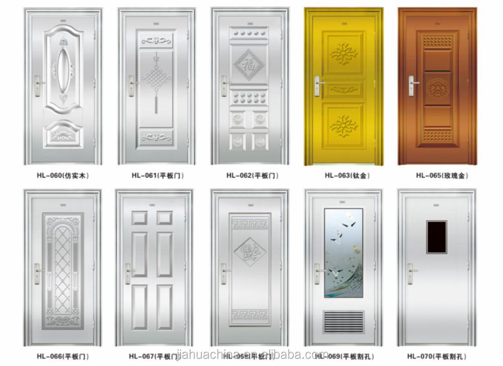 Stainless steel door main door design 2016 buy security for Latest wooden door designs 2016