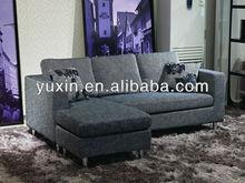 Modern small corner sofa for apartment
