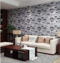Luxurious faux leather pvc tv background wallpaper 3d modern soft bag vinyl wall paper