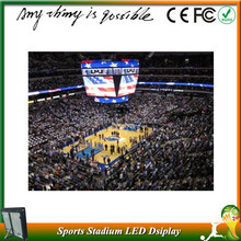 high flash long lifespam p10 p16 commercial advertising , Star sports football match led display sign billboard