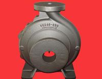 ductile cast iron resin cast iron pump body