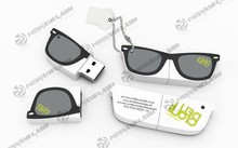 Factory price bulk glasses usb flash disk 2.0