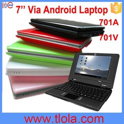 Cheap Good Android Mini 7 inch Laptop with Bluet ooth WIFI Laptop