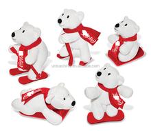 SEDEX, citi, cola fabbrica di revisione ghiottoni peluche orso farcito marrone orsacchiotto con la sciarpa peluche