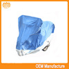 Double colour 190t silver coated double bike cover at factory price