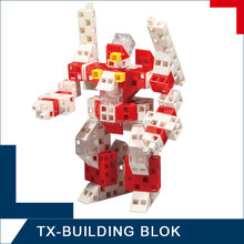 funny building block set - diy plastic robots for kids