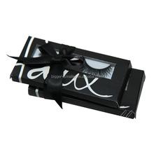 100% Natural Human Hair False Eyelashes Under Lashes Light - Short Light - Medium customized logo printing high quality box