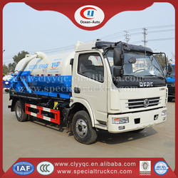 6000L DFAC Sewage Vacuum Tank Suction Tank Truck for Sale
