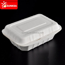 Freezer safe Sugarcane pulp food container