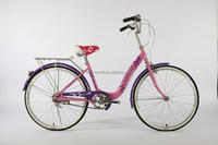 "24"" city bike/bicycle for lady OEM manufacture SWCB(060)"