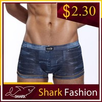 Shark Fashion man underwear picture sexy dying underpants sexy boys in boxers