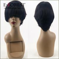 Cheap Sale Virgin Brazilian Human Hair Silky Straight Full Lace Wig Small Head Wig