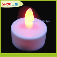 2015 Hot Selling LED Flameless Candle/Rechargable LED Candle/LED Candle Light