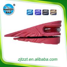 Height increasing air cushion waterproof shoe insole