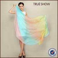 Latest Design New Printing Chiffon Silk Scarf Fashion Scarves for Women