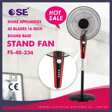 home appliances as blades 16 inch round base stand fan FS-40-334