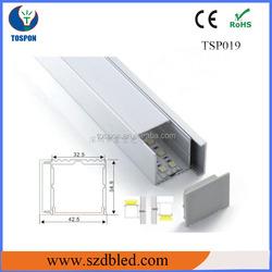 Aluminum led cabinet light frame