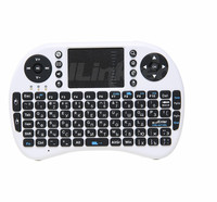 Fly Air Mouse Touchpad Handheld Rii i8 Russian Keyboard Remote Control wireless hd media player arabic wireless keyboard