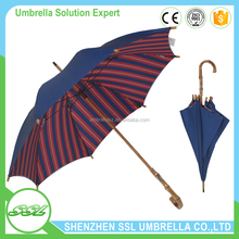 Japanese style umbrella with bamboo handle brand name umbrella