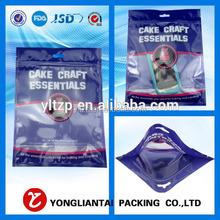 colorfull printing zipper bag