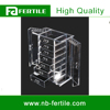 WFZ Deluxe 7-drawer Clear Acrylic Jewelry Organizer with Necklace Keeper