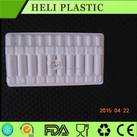 medical blister plastic tray with dividers for capsule packing