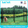 wholesale Large outdoor galvanized commercial dog cage/enclosure for dog/chain link dog kennel lowes