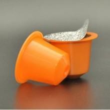 printed coffee capsule use embossed aluminium foil lid/foil seals for coffee capsule
