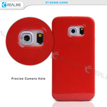 In stock tpu gel case for galaxy S6/s6 edge, s6 edge tpu back cover case