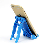 2015 top sale plastic phone stand , desktop cell phone holder,folding cellphone holder