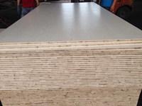 laminated board 2.5mm Beech Board sided melamine plywood Malacca core E1 glue Block board