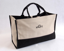 Hand-held Personalized Metro Tote Canvas Bag
