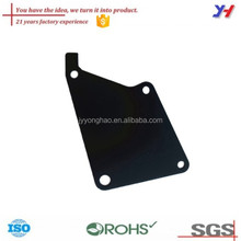 OEM 21 Years Factory Top Quality Customized Black Coated Steel Plate Laser Cutting Adapter