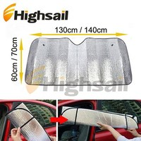 foldable visor car sun shade material