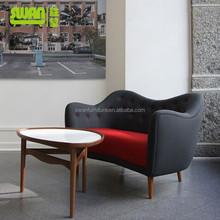 5001-2 popular scandinavian design sofa with bottons