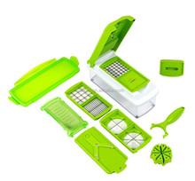 As Seen on TV Multi Chopper Vegetable Cutting Dicing Slicing Kitchen Gadget Peeler 12pcs/set Kitchen Tool 11pcs Cut Way