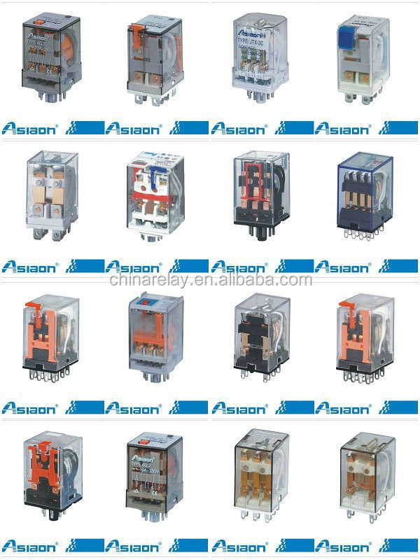 general purpose relay my4 14pin relay 24v dc