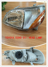 car accessories dubai head light for echo 01- echo japanese car spare parts
