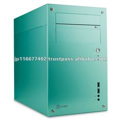 acubic T20R Aqua Blue / Aluminum PC Case Price negotiable!!