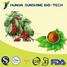 Good price of herbal extract powder immune booster medicines schisandra P.E. powder