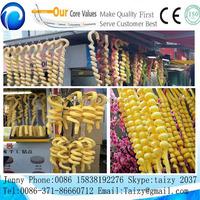 New ice cream used Hollow tube cornHollow tube type snack corn puffed ice cream stick machine for sale