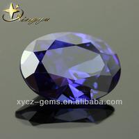Diamond Tanzania Gemstones Oval Shape Cubic Zirconia stone