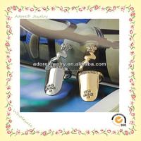 Women Costume Jewelry Rhinestone Flower Zinc Alloy Finger Nail Ring