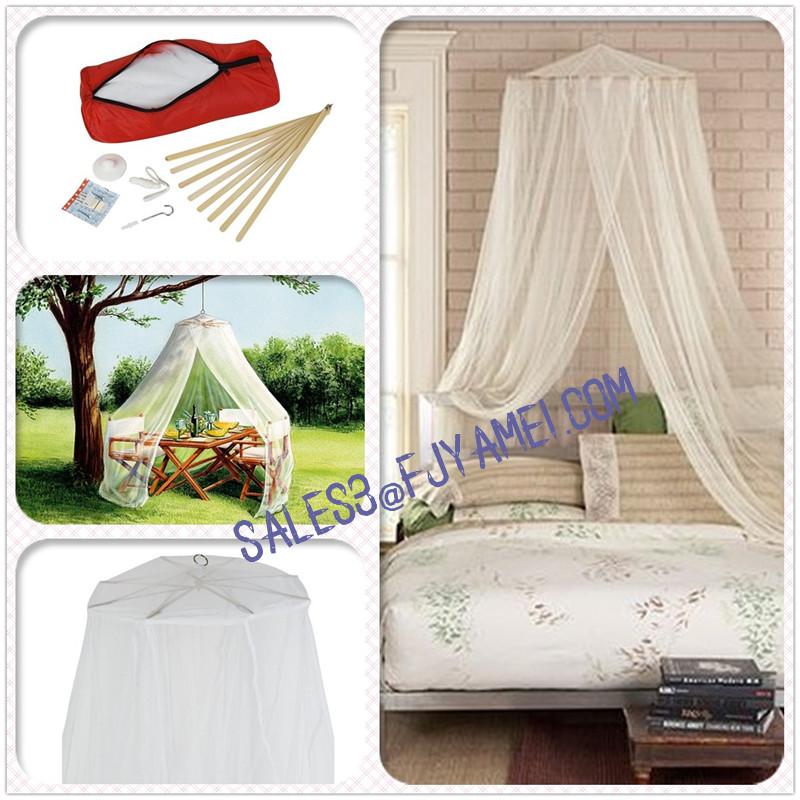 bambou naturel moustiquaire pour lit double et camping. Black Bedroom Furniture Sets. Home Design Ideas