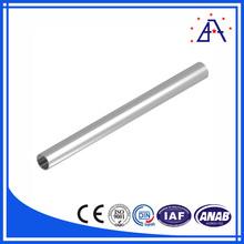 brillantezza verniciatura a polvere 6063 t5 tubo di alluminio per il radiatore