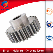 C45 steel spur gear with teeth hardened
