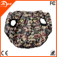 Camouflage jacket for large dog ,pet with thick winter clothing,dog winter clothing